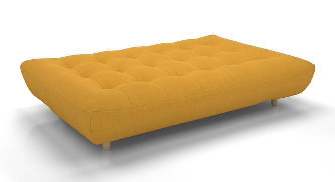 Palermo Sofa Cum Bed (Yellow) by Urban Ladder