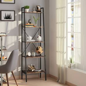 Wallace Bookshelf Wenge Finish By Urban Ladder