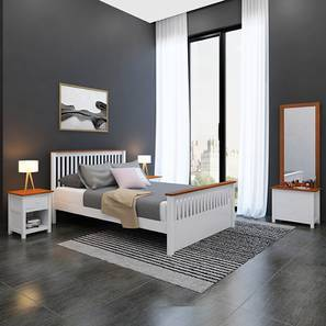 Athens evelyn compact bedroom set white without storage lp