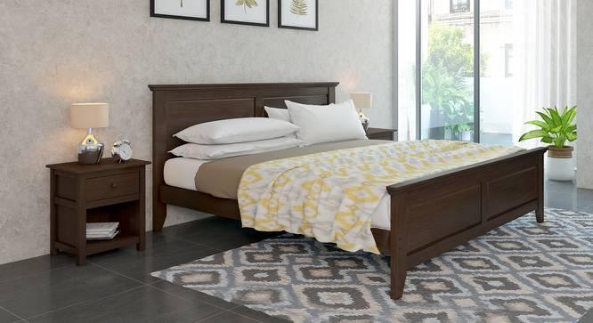 Somerset - Evelyn Essential Bedroom Set (Queen Bed Size, Dark Walnut Finish) by Urban Ladder