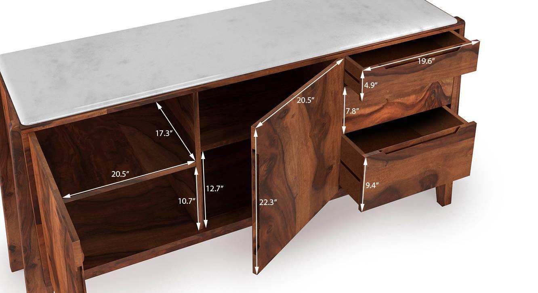 Galatea marble sideboard 8