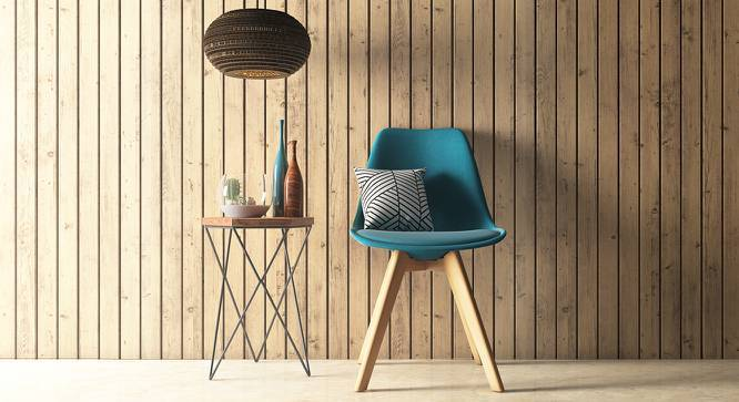 Pashe Chair (Teal) by Urban Ladder