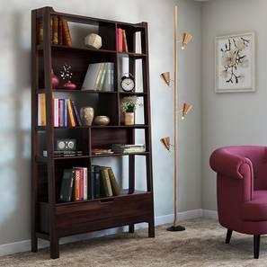Alberto Bookshelf (Mahogany Finish) by Urban Ladder