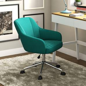 Ferriss Study Chair (Aqua) by Urban Ladder