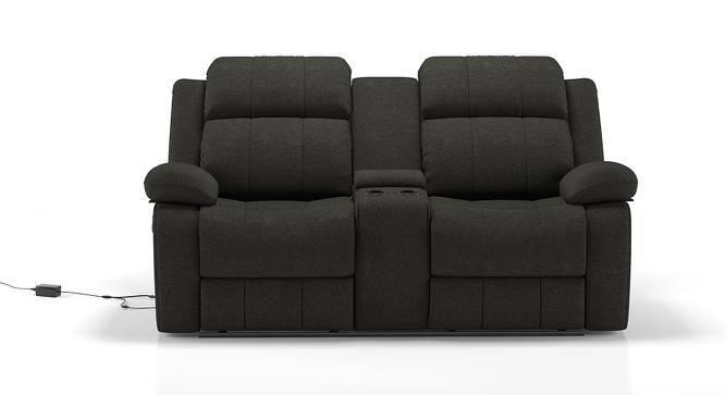 Robert Motorized Home Theatre Rocker Recliner Sofa (Grey Fabric) by Urban Ladder