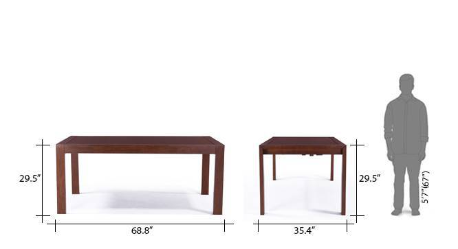 Vanalen 6 to 8 extendable leon 8 seater dining table set beige 16
