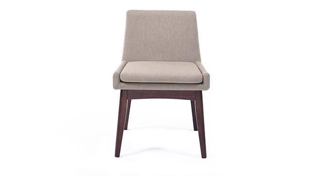 Arco - Leon 8 Seater Dining Table Set (Beige, Dark Walnut Finish) by Urban Ladder