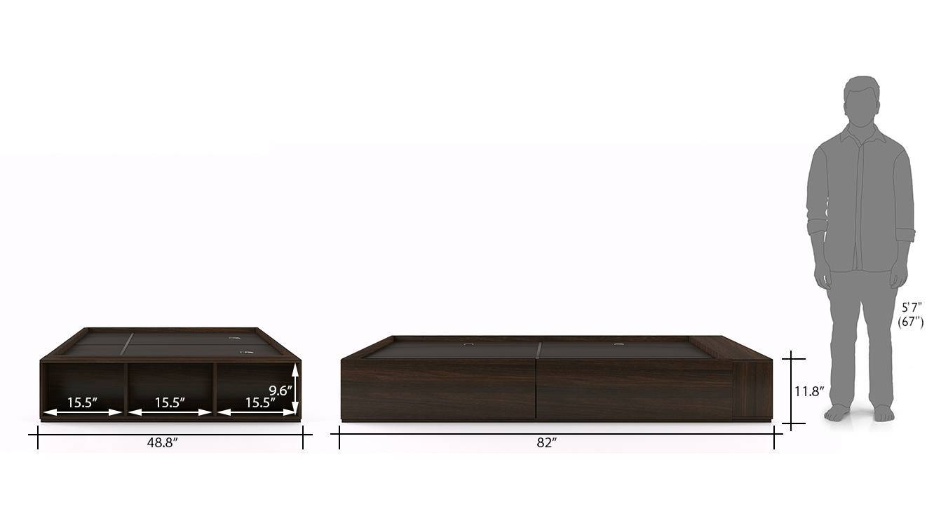 Toshi compact bed 12