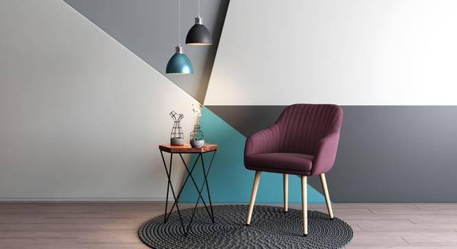 Rochelle Lounge Chair (Purple) by Urban Ladder