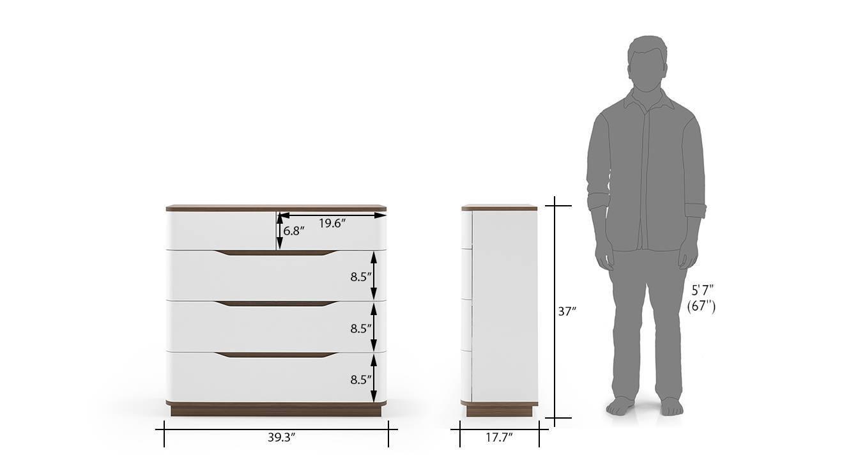 Baltoro high gloss hydraulic storage compact bedroom set king 16