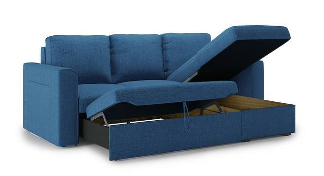 Kowloon Sectional Sofa Cum Bed With Storage Urban Ladder