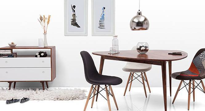 DSW Side Chair ReplicaBlack
