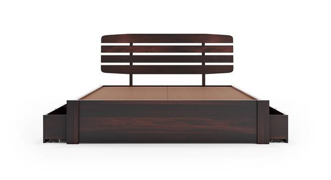 Sampson Storage Bed (Mahogany Finish, King Bed Size) by Urban Ladder