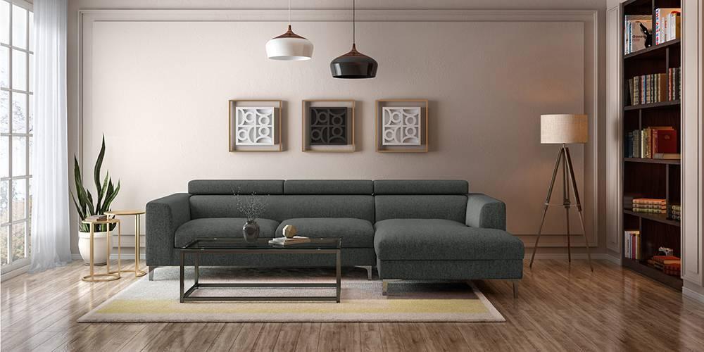 Chelsea Adjule Sectional Sofa Grey
