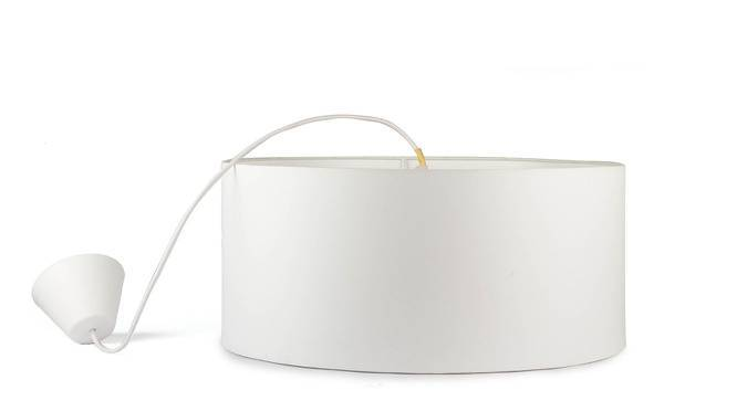 Halo Single Pendant Light (Off White) by Urban Ladder