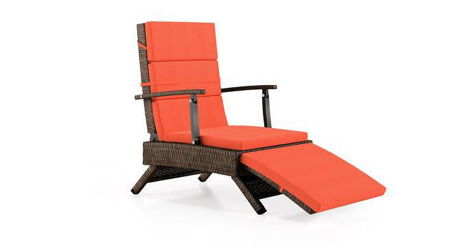 Onfray Patio Chair (Rust) by Urban Ladder
