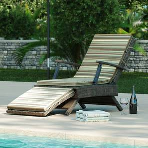 Onfray Patio Chair (Striped) by Urban Ladder