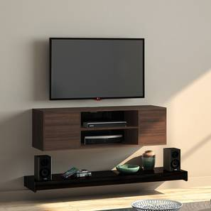 Astrid 47 Tv Unit Black By Urban Ladder