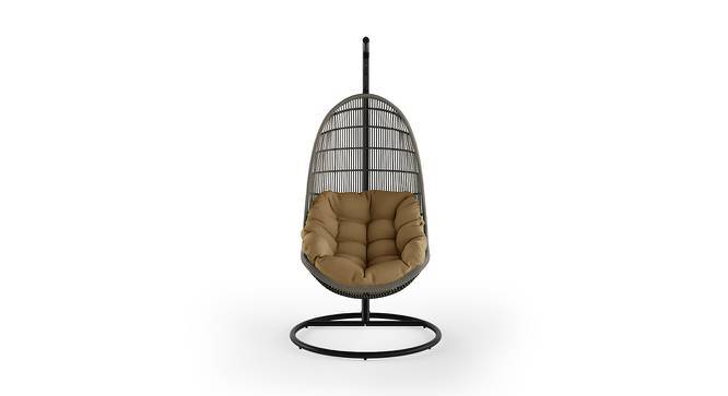 Piver Swing Chair With Stand (Brown) by Urban Ladder
