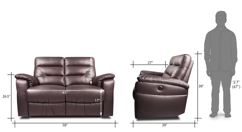 Calvin 2 seater recliner cl 05