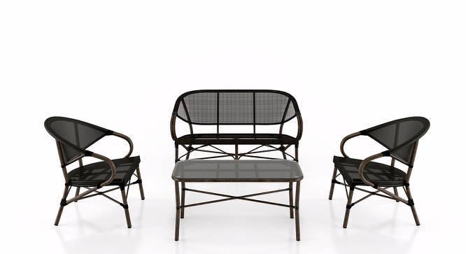 Cirali Table & Chair Set (Black) by Urban Ladder