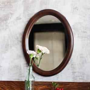 Freya Round Wall Mirror (Round Mirror Shape) by Urban Ladder