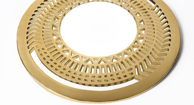 Zara Round Wall Mirror (Round Mirror Shape) by Urban Ladder