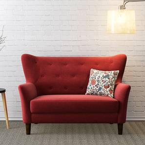 Frida Loveseat (Red) by Urban Ladder