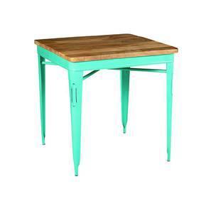 Soren High Table (Blue) by Urban Ladder