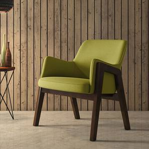Carven Lounge Chair (Green) by Urban Ladder