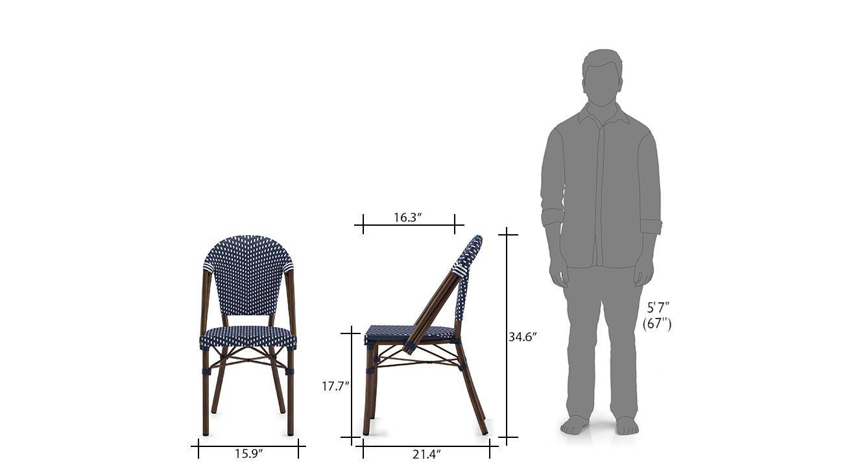 Kea patio chair single 21