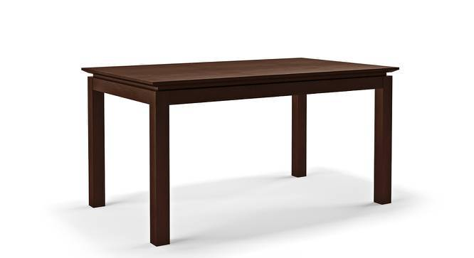 Diner 6 Seater Dining Table (Dark Walnut Finish) by Urban Ladder