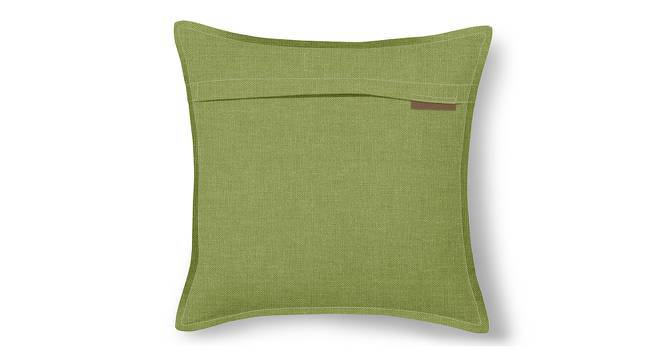 """Tito Cushion Cover - Set Of 2 (16"""" X 16"""" Cushion Size, Pistachio Green) by Urban Ladder"""