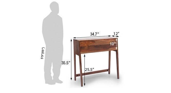 Rowling compact desk teak55