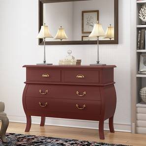 Verlet chest of drawer red lp