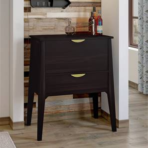 Swanson Bar Cabinet (Mahogany Finish) by Urban Ladder