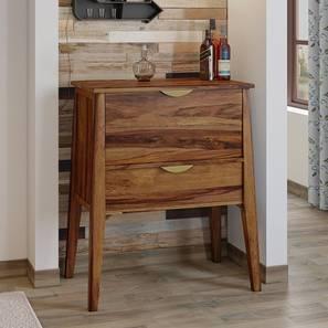 Swanson Bar Cabinet (Teak Finish) by Urban Ladder