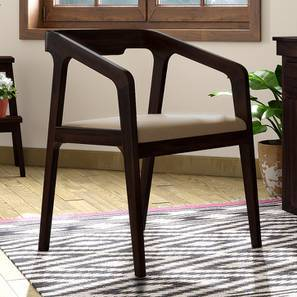 Alphonse Study Chair (Mahogany Finish, Wheat Brown) by Urban Ladder
