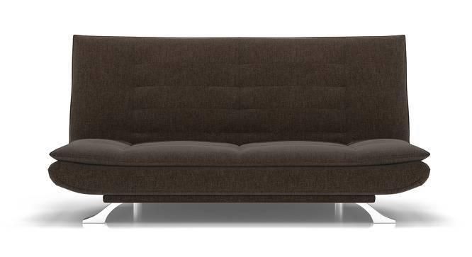 Edo Sofa Cum Bed (Brown, Yes) by Urban Ladder