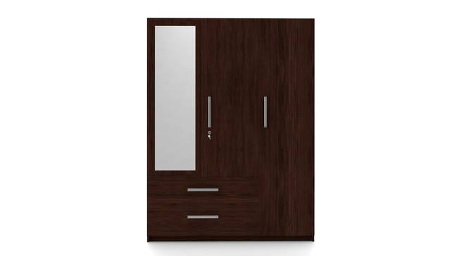 Domenico Wardrobe (Three Door, Yes Mirror, With Drawer Configuration, Yes) by Urban Ladder