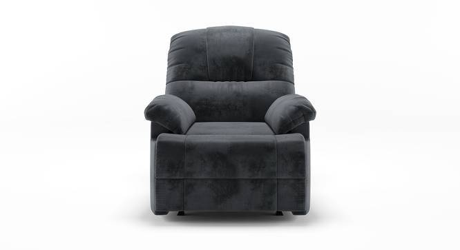 Cooper Rocker Recliner (Grey, Fabric Material, Yes) by Urban Ladder