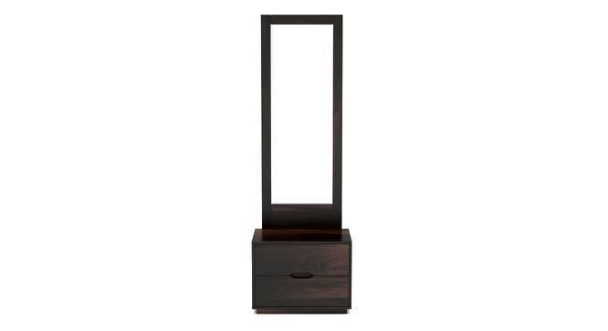 Zephyr Dresser With Mirror (Mahogany Finish, Yes) by Urban Ladder