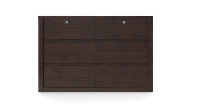 Barrie Large Chest of Drawers (Dark Walnut Finish, 6 Drawer Configuration, Yes) by Urban Ladder