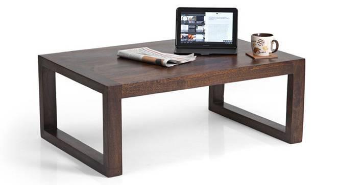 Altura Coffee Table (Walnut Finish, Yes) by Urban Ladder