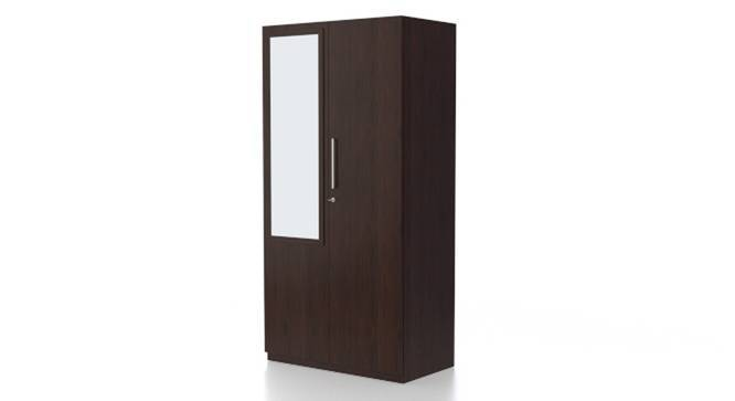 Domenico Wardrobe (Two Door, Yes Mirror, Without Drawer Configuration, Yes) by Urban Ladder