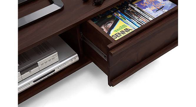 "Parker 57"" TV Unit (Mahogany Finish, Yes) by Urban Ladder"