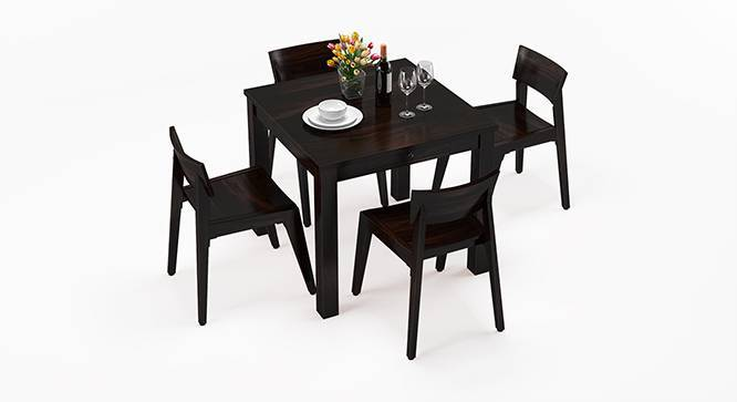 Arabia - Gordon 4 Seater Storage Dining Table Set (Mahogany Finish) by Urban Ladder
