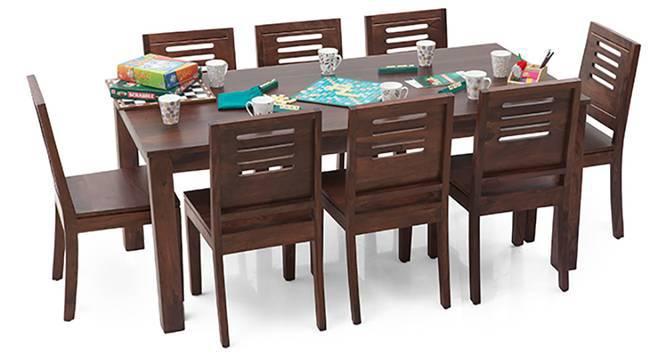Arabia XL - Capra 8 Seater Dining  Set (Teak Finish) by Urban Ladder