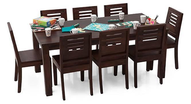 Arabia XL - Capra 8 Seater Dining  Set (Mahogany Finish) by Urban Ladder