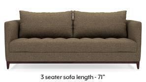 Florence Compact Sofa (Dune Brown)